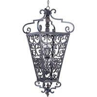 "Maxim Lighting - Southern - 31"" 8-Light Entry Foyer Pendant in Kentucky Bronze"