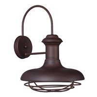 Maxim Lighting - Wharf - Outdoor Wall Lantern in Empire Bronze