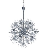 Maxim Lighting - Starfire - 11 Light Chandelier in Polished Chrome with Beveled Crystal Glass