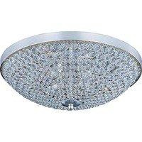 Maxim Lighting - Glimmer - Glimmer 4-Light Flush Mount in Plated Silver