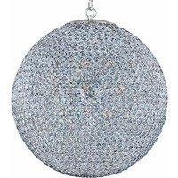 Maxim Lighting - Glimmer - Glimmer 12-Light Chandelier in Plated Silver