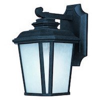 Maxim Lighting - Radcliffe LED - Radcliffe LED 1-Light Small Outdoor Wall in Black Oxide