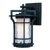 Maxim Lighting - Oakville LED - Oakville LED 1-Light Outdoor Wall Lantern in Black Oxide