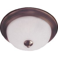Maxim Lighting - Essentials - 583x - Essentials 1-Light Flush Mount in Oil Rubbed Bronze