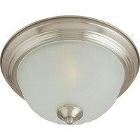 Maxim Lighting - Essentials - 583x - Essentials 1-Light Flush Mount in Satin Nickel