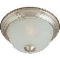 Maxim Lighting - Essentials - 583x - Essentials 2-Light Flush Mount in Satin Nickel