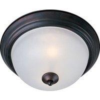 Maxim Lighting - Essentials - 584x - Essentials 2-Light Flush Mount in Oil Rubbed Bronze