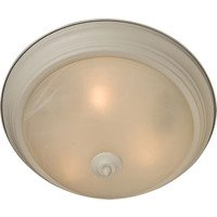 Maxim Lighting - Essentials - 584x - Essentials 2-Light Flush Mount in Textured White