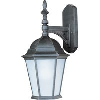 "Maxim Lighting - Westlake Energy Star - 9 1/2"" Energy Star 1-Light Outdoor Wall Lantern in Rust Patina"