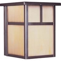 Maxim Lighting - Coldwater EE - Energy Efficient Outdoor Wall Lantern in Burnished with Honey Glass