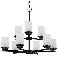 Maxim Lighting - Corona - 9-Light Chandelier in Black