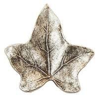 Modern Objects - Pinecones & Jasmine - Ivy Leaf Knob in Antique Brass
