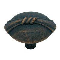 "Liberty Hardware - Oil Rubbed Bronze - Ribbon Knob 1 1/8"""