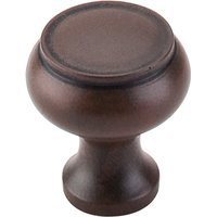 "Top Knobs - Normandy - 1 1/8"" Raised Lip Knob in Patine Rouge"