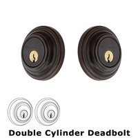 Nostalgic Warehouse - Classic - Double Deadbolt - Classic Deadbolt in Timeless Bronze
