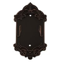 Nostalgic Warehouse - Victorian - Blank Switchplate in Timeless Bronze
