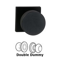 Omnia Industries - Puck Prodigy - Double Dummy Puck Knob with Square Rose in Oil-Rubbed Bronze