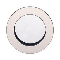 "Omnia Industries - Flush Pulls - 2 3/8"" (60mm) Round Modern Recessed Pull in Polished Nickel"