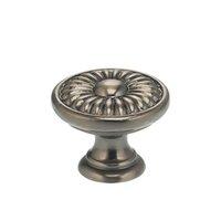 "Omnia Industries - Ornate Knobs & Pulls - 1"" Daisy Knob Pewter"
