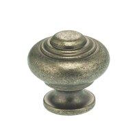 """Omnia Industries - Vintage - 1 3/16"""" Max Knob Vintage Iron"""