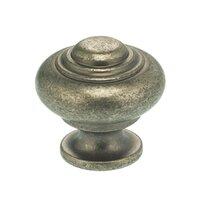 """Omnia Industries - Vintage - 1 9/16"""" Max Knob Vintage Iron"""