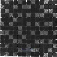 Onix Mosaico Glass Tiles - Nature Blends Series - Upsala Black