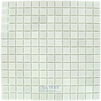 Onix Mosaico Glass Tiles - StoneGlass Antislip Series - Textured White
