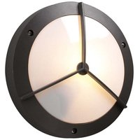 "PLC Lighting - Contemporary Outdoor Light Fixtures - 11"" Exterior Light in Bronze"