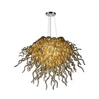 PLC Lighting - Contemporary Chandeliers - Chandelier in Polished Chrome with Frost Glass