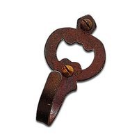 "Richelieu Hardware - Styles Inspiration XXVII - 1 3/16"" Long Hook in Rust"