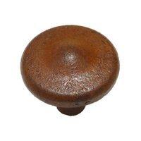 "Richelieu Hardware - Styles Inspiration VI - Cast Iron 1 3/8"" Diameter Peaked Knob in Rust"