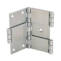 "Richelieu Hardware - Styles Inspiration XXX - 2 3/8"" Double Action Hinge in Stainless Steel"
