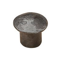 "Richelieu Hardware - Styles Inspiration XXXI - 1 1/4"" Diameter Knob in Antique Iron"