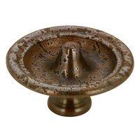 "Richelieu Hardware - Styles Inspiration XXIV - 1 1/2"" Diameter Apex Knob in Spotted Bronze"