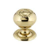 "Richelieu Hardware - Classic Expression III - 1 1/4"" Knob In Brass"