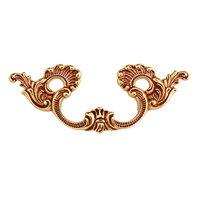 "Richelieu Hardware - Styles Inspiration XI - 2 17/32"" Center Handle in Empire Brass"