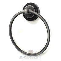 RK International - Step Up Design - Towel Ring in Distressed Nickel