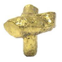 RK International - Polished Brass - Branch Knob in Polished Brass