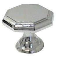 RK International - Polished Chrome - Octogonal Knob in Polished Chrome