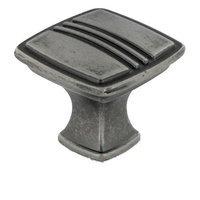 """RK International - Alder Design - 1 3/16"""" Knob in Weathered Nickel"""