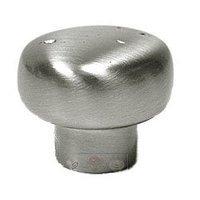 RK International - Satin Nickel - Distressed Heavy Circular Knob in Satin Nickel