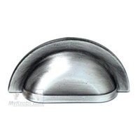 RK International - Distressed Nickel - Smooth Half Circle Cup Pull in Distressed Nickel