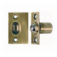 Schlage Door Hardware - Ives Door Accessories - Solid Brass Ball Catch in Antique Brass