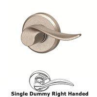 Schlage Door Hardware - Greyson - F Series - Sacramento With Greyson Single Dummy Right Handed Door Lever in Satin Nickel