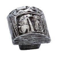 Siro Designs - Impala - Egyptian Mural Knob in Antique Silver