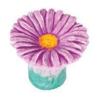 Siro Designs - Flowers - Pink Daisy Knob