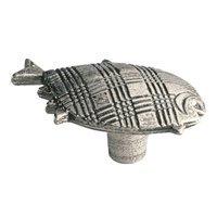 Siro Designs - Big Bang - Fish Knob in Antique Pewter