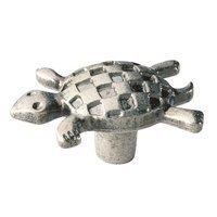 Siro Designs - Big Bang - Turtle Knob in Antique Pewter