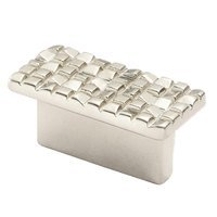 "Siro Designs - Mosaic - Rectangular Pull 1 1/4"" (32mm) Centers in Matte Nickel"