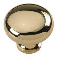"""Siro Designs - Penny Savers - Bright Brass 1 1/4"""" Knob"""